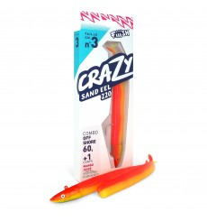 Fiiish Crazy Sand Eel 220 Combo
