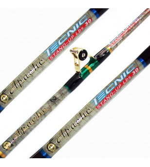 ARTICO APACHE TECNIC 50 LBS STAND UP RODS