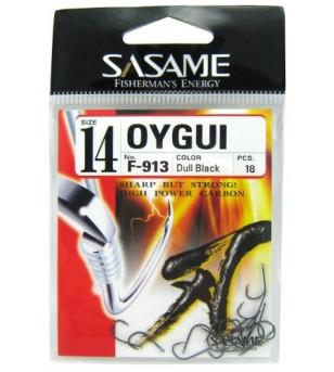 AMI SASAME F-913 OYGUI DULL BLACK