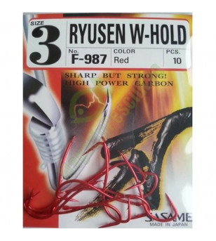 AMI SASAME F-987 RYUSEN W-HOLD Red