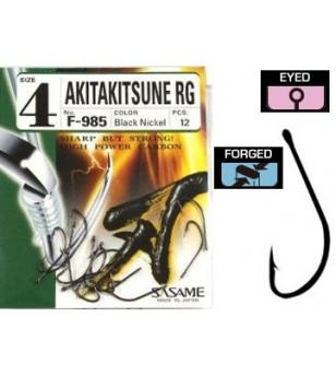 AMI SASAME F985 AkitaKitsune RG BLACK NICKEL