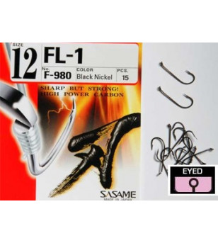 AMI SASAME F-980 FL1 BLACK NICKEL
