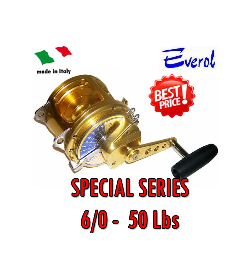 EVEROL SERIE SPECIAL 6/0 - 50 Lbs