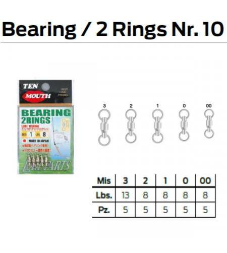 BEARING 2 RINGS N 10