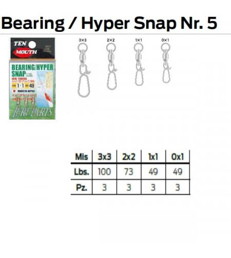 BEARING HYPER SNAP N 5