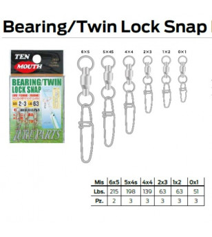 BEARING TWIN LOCK SNAP N 12