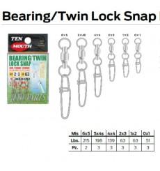 BEARING TWIN LOCK SNAP N 12