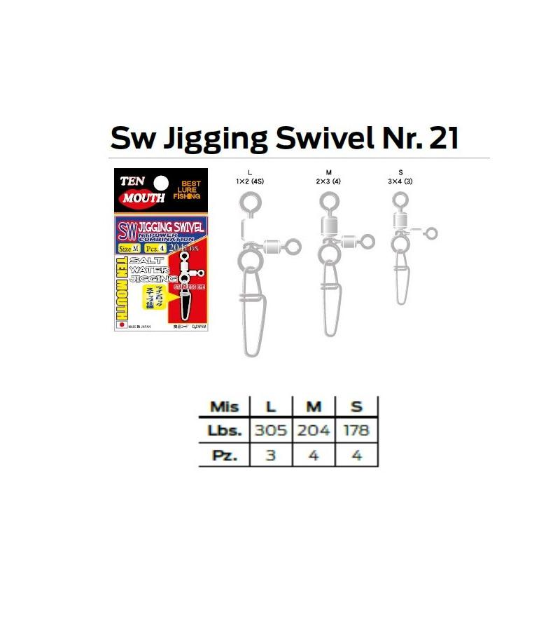 SW JIGGING SWIVEL N 21