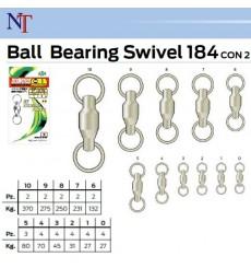 NT BALL BEARING SWIVELS 2 RINGS 184