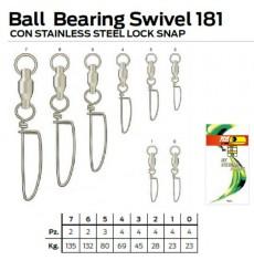 NT BALL BEARING SWIVEL LOCK SNAP 181