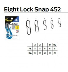 NT EIGHT LOCK SNAP 452