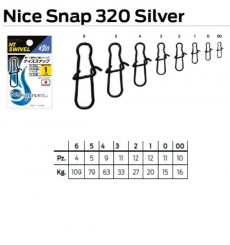 NT NICE SNAP 320 SILVER