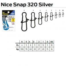 NT NICE SNAP 320 SILVER