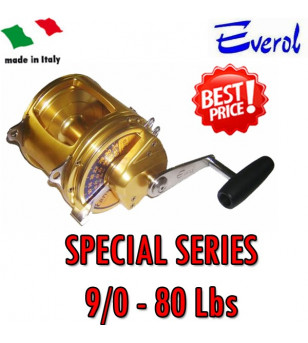 EVEROL SERIE SPECIAL 9/0 - 80 Lbs