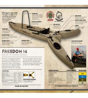 Kayak Freedom Hawk 14