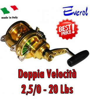 EVEROL DOPPIA VELOCITA' 2,5/0 - 20 Lbs