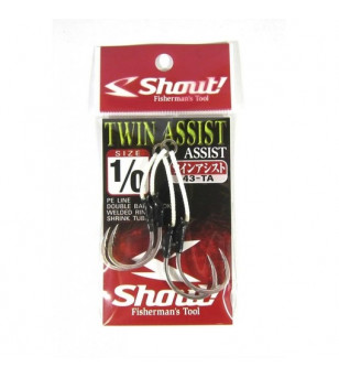 SHOUT 43-TA TWIN ASSIST DOUBLE BARB