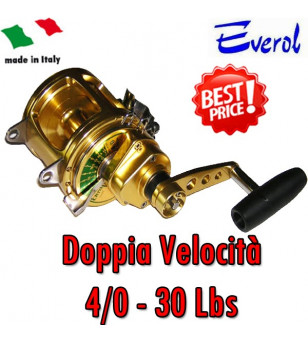 EVEROL TWO SPEED SERIES 4/0 - 30 Lbs