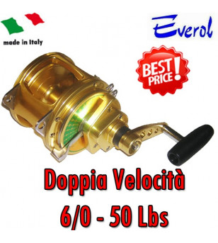 EVEROL TWO SPEED SERIES 6/0 - 50 Lbs