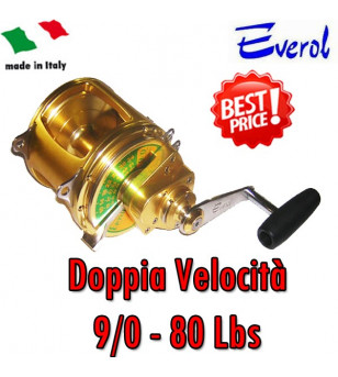 EVEROL TWO SPEED SERIES 9/0 - 80 Lbs