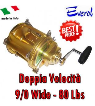 EVEROL DOPPIA VELOCITA' 9/0 - 80 Lbs WIDE