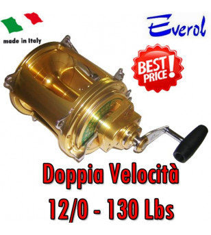 EVEROL TWO SPEED SERIES 12/0 - 130 Lbs