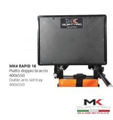 MK4 RAPID Piatto doppio braccio 40x55