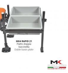 MK4 RAPID Piatto doppia bacinella