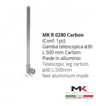 MK4 GAMBA TELESCOPICA CARBONIO Ø 30