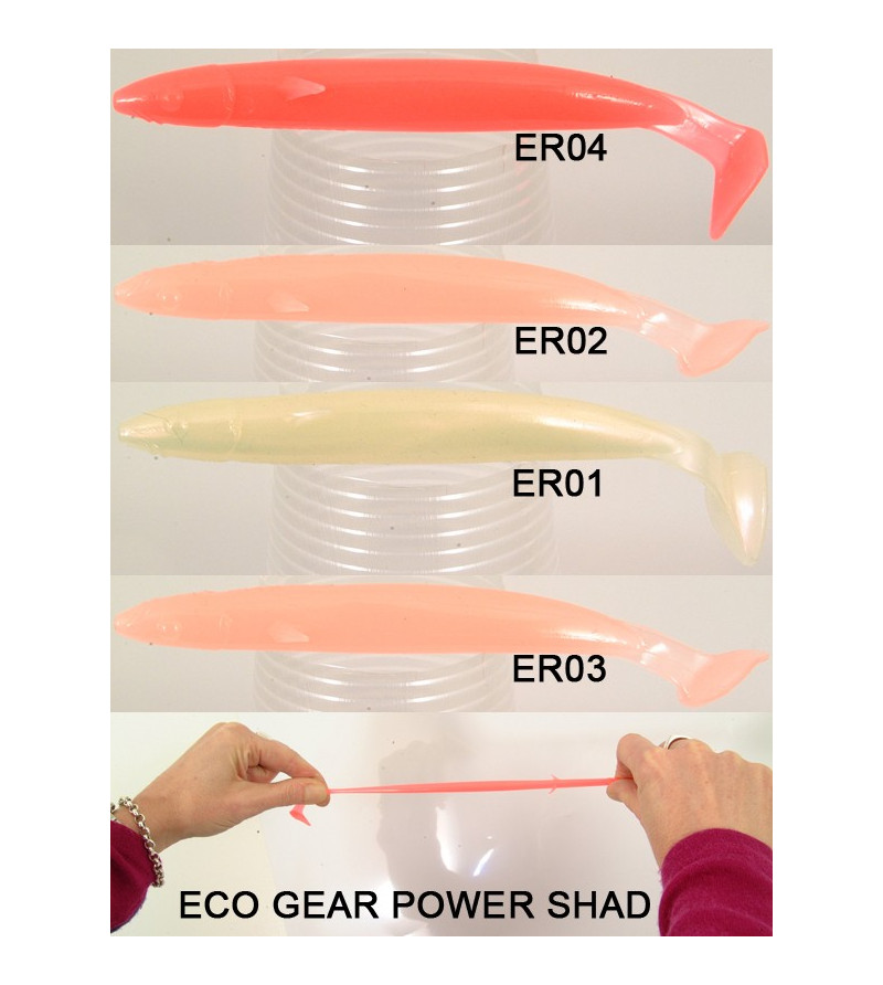 ECOGEAR Power Shad Strong