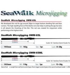 YAMAGA BLANKS Sea Walk Microjigging