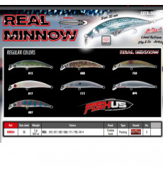 FISHUS REAL MINNOW